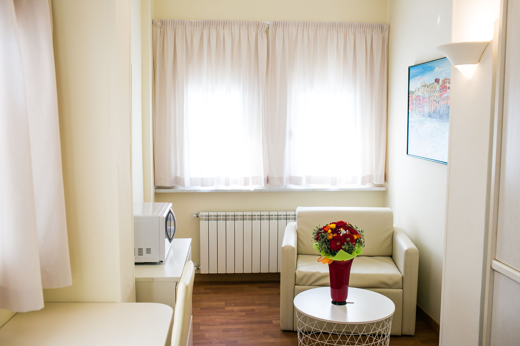 Residence camera bilocale angolo relax