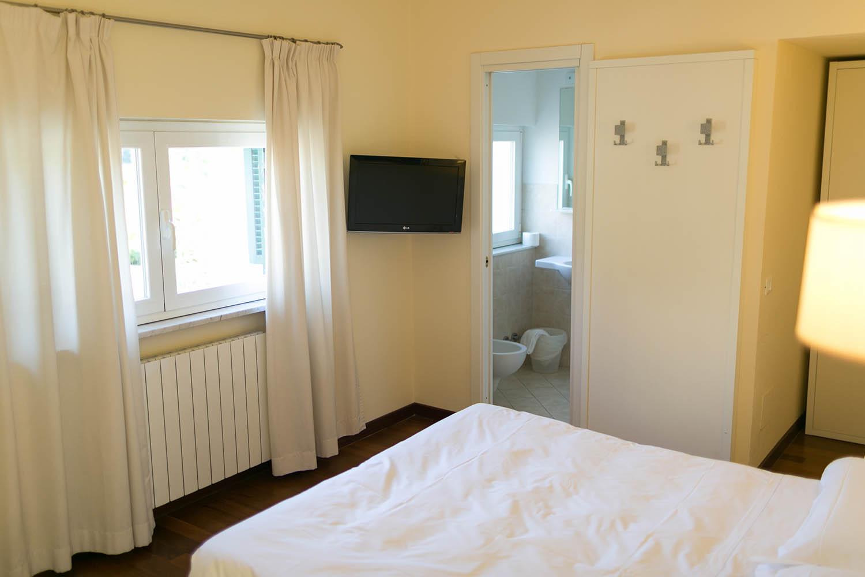 REX Hotel Residence Genova camera con bagno