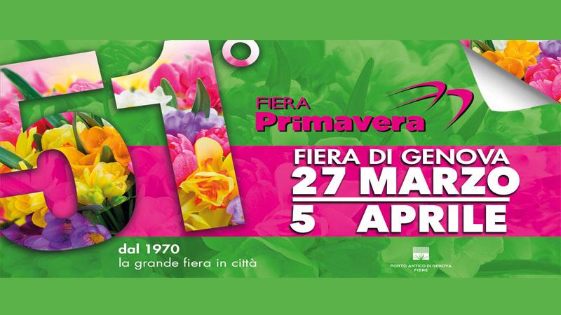 locandina Fiera Primavera di Genova