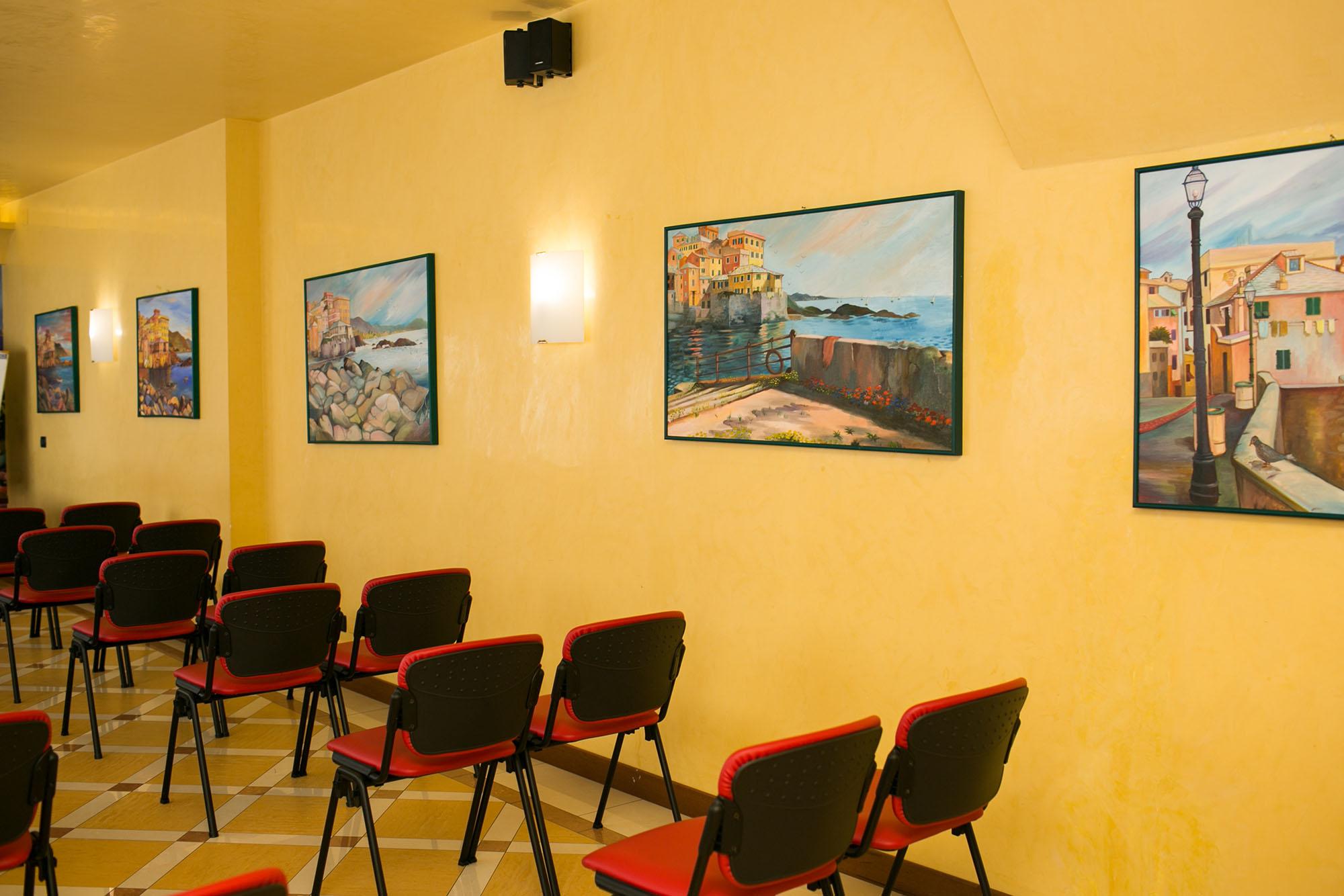 Dettaglio conference center sala riunioni e meeting
