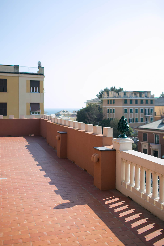 Terrazza Solarium hotel e residence vista mare