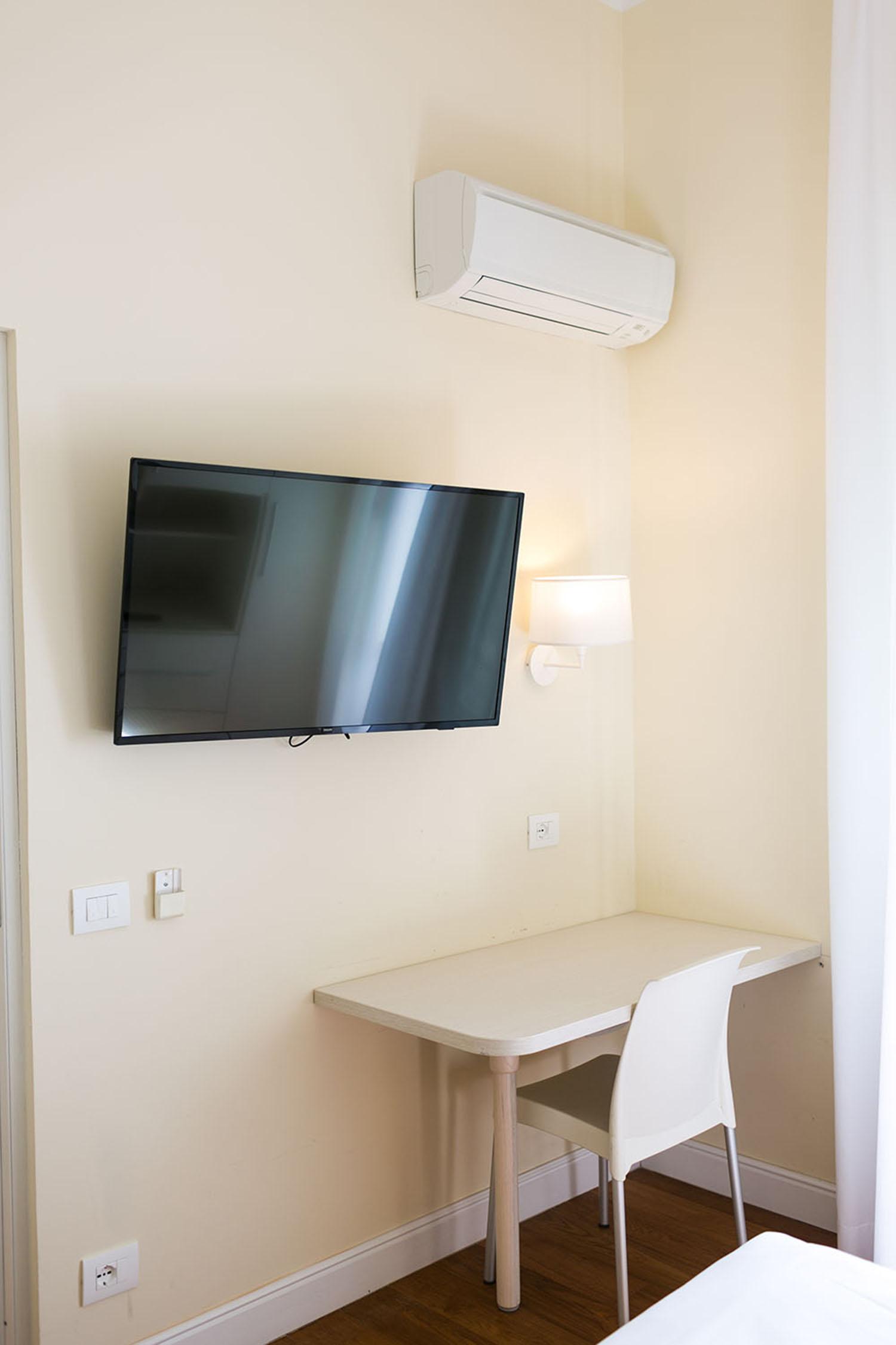 Televisione e aria condizionata