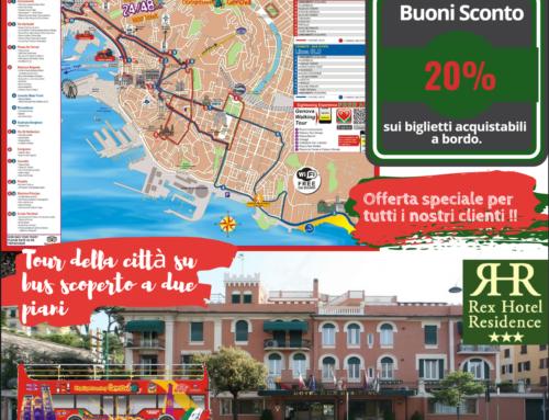 Tour della città su bus scoperto a due piani (20% di sconto)